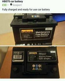 Car /van batterys