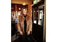 Fur coat for sale (size 12)