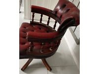 Chesterfield Office Chair Restoration Project