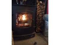 Charnwood Cove 2B Boiler Multi Fuel Wood Burning Stove