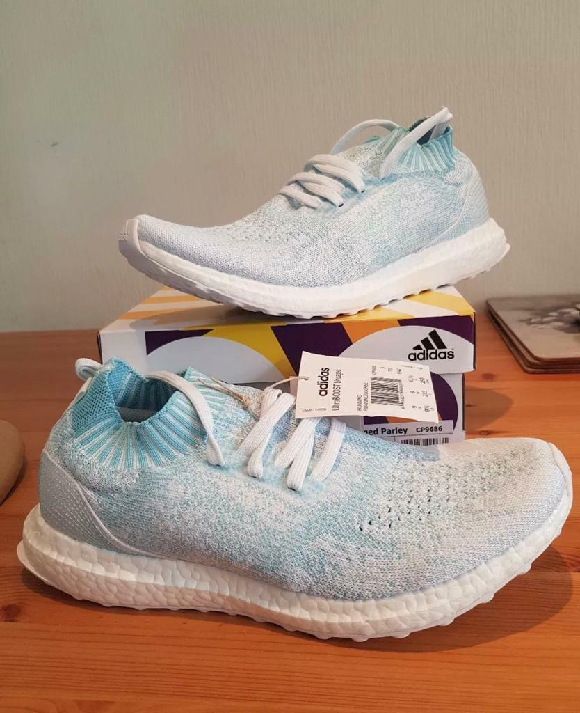 62bafbbec Adidas ultra boost parley size 9 uk authentic brand new
