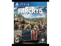 FARCRY 5 for PlayStation 4.