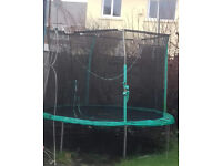 10ft trampoline for sale. two years old. good condition
