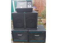 Peavey Speakers Monitors (Band/Stage)