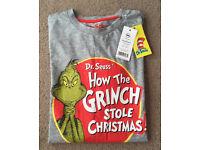 Men's T-Shirt - Dr.Seuss Christmas - Medium