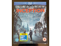 Inception Bluray Triple Play + DVD & Digital BRAND NEW SEALED