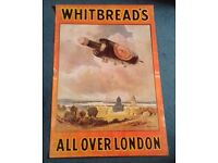 Whitbread Brewery Poster
