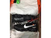 Nike x off white vapormax trainer UK 8.5 brand new and boxed