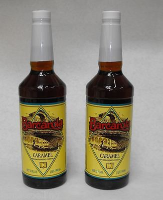 2 Pack Gourmet Caramel Syrup 32oz. Coffee Drink Italian Soda Flavor
