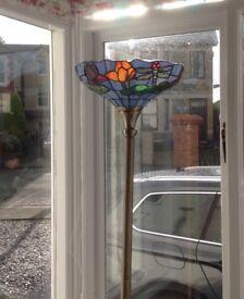 Antique Tiffany Floor Lamp with original glass shade