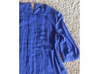 Ladies Oasis blouse. Size 16. £10