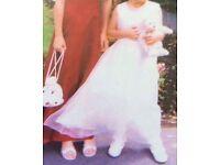 Flower girls dress/communion