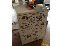 Fridge - old and tatty but works - free to collector (Canterbury)