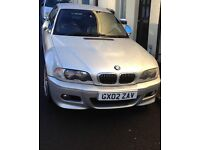 2002 BMW E46 M3 CONVERTIBLE SMG GEARBOX, 95,000 MILES