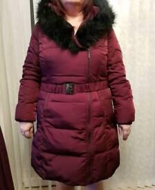 Jasper j conran puffa coat size 16