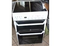 6 MONTHS WARRANTY Indesit ID60 60cm, double oven electric cooker FREE DELIVERY