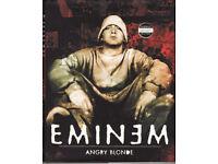 SLIM SHADY* E M I N E M* Art Asylum* toy action figure 2001 & EMINEM ANGRY BLONDE Book £38