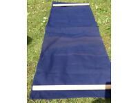 Canvas deckchair seat cover