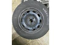 5x100 Steels with winter tyres!
