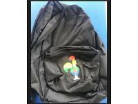 Unique Nandos Backpack with Barci Logo in LGBT PRIDE COLOURS!