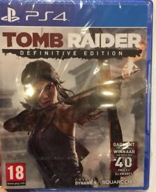 Tomb Raider Definitive Edition [European import] PS4 - NEW and unopened
