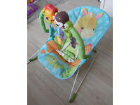 Baby Bouncer, Play Mat and Bath Support for Babies