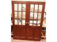 Internal French Doors Glazed