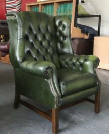 Chestefield St Ann's Wingback Armchair .Can Deliver