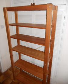 Display Shelving, Bookshelves, Solid Pine