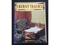 RAILWAY BOOK. LUXURY TRAINS OF THE WORLD BY GEOFFREY FREEMAN ALLEN FOR SALE