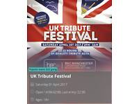 2x Tickets for UK Tribute Festival