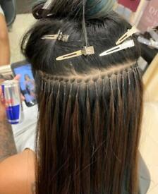 Hair extensions models