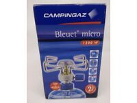 Camping gaz micro bleuet cooking stove tent new gas