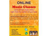 Carnatic Music Online