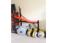 Propower active bench and weights