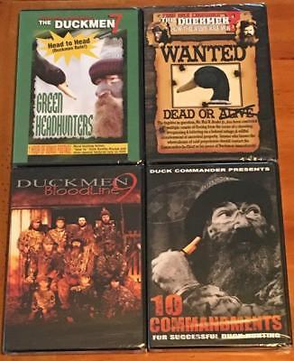 Duck Commander Hunting Duckmen Seasons 7 8 9 10 Duck Dynasty 4 DVD Lot Set NEW