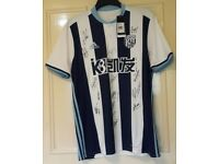 W.B.Albion signed football shirt