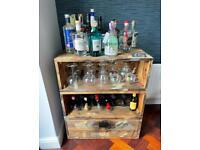 Handmade drinks cabinet