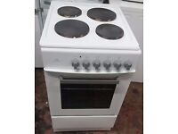 New World ES50S Single Oven 50cm Electric Cooker - White