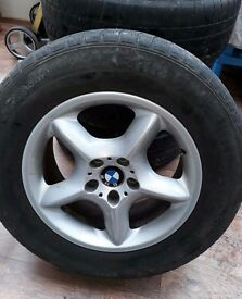 4 x wheels and tyres to BMW x3