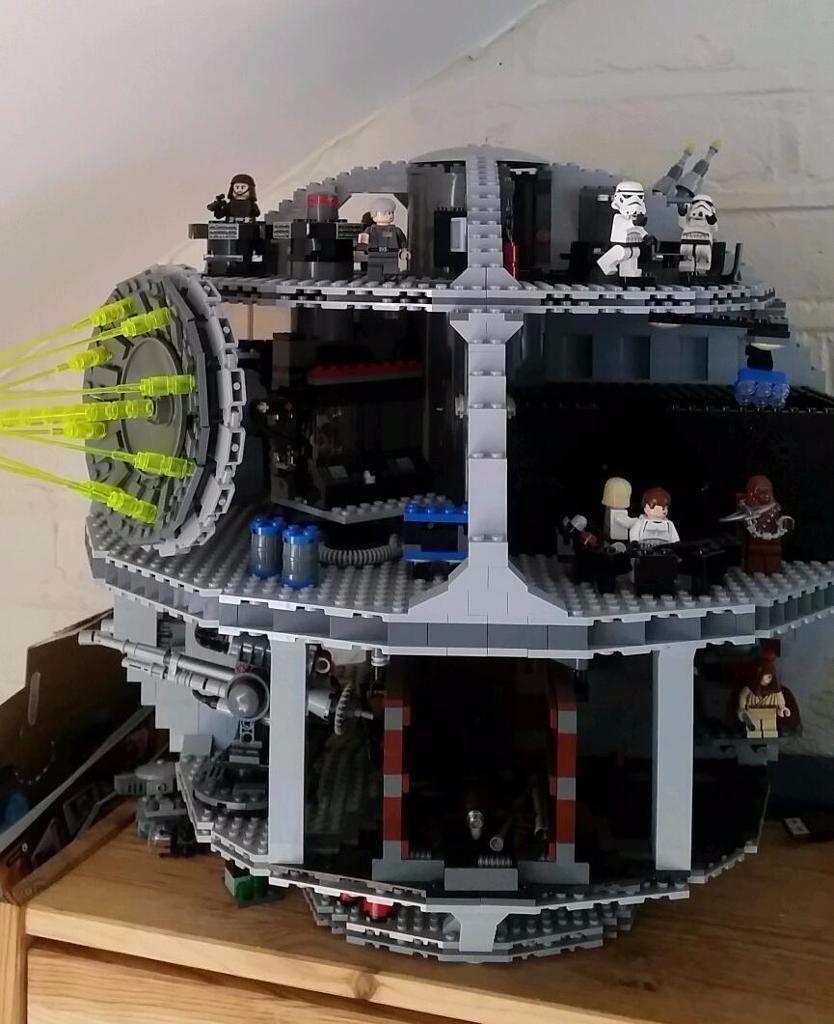 Lego Star Wars Death Star 10188 Excellent Condition 100 Complete
