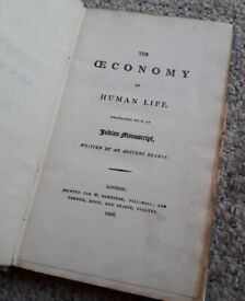 An Old Book (1806), The Economy of Human Life