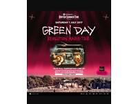 2 tickets for greenday at Hyde park's British summertime!