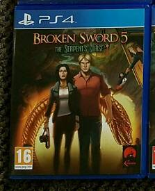 Broken sword 5. Ps4