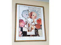 Large Framed Print of Sonatina Per Die by Sona Wachmeister