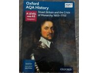 AQA HISTORY; STUART BRITAIN AND THE CRISIS OF MONARCHY 1603-1702