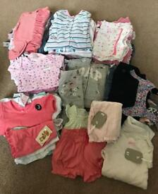 Girls 0-3 month summer bundle