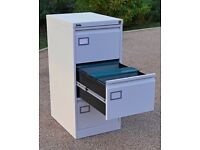 Silverline 3 draw Executive Filing Cabinet