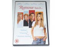 Rumour Has It DVD - Jennifer Aniston & Kevin Costner