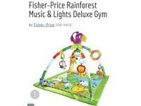 Fisher price rainforest delux playmat